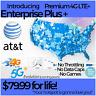 ATT 4G LTE Unlimited HOTSPOT Data $79.99 UNTHROTTLED NO CAPS TRULY UNLIMITED SIM