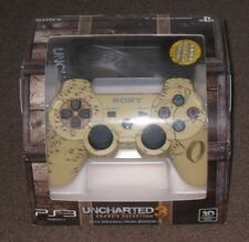 Uncharted 3 Dualshock 3 Controller + Steelbook Game Bundle Limited New PS3 Rare