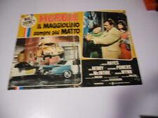 FOTOBUSTA DISNEY HERBIE IL MAGGIOLINO SEMPRE PIU' MATTO 1967