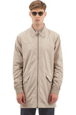 NEW NWT I LOVE UGLY Longline Coaches Jacket size L Beige color $119 size L