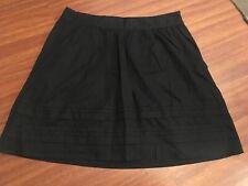 Ann Taylor Loft Cotton Mini Skirt Size 2P