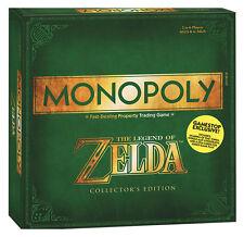 The Legend of Zelda Gioco di Tavolo Monopoly Esclusivo Edition Edizione Inglese