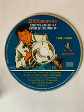 DK KARAOKE - 3043 - COUNTRY - SPURS JANGLIN - USED - RARE - LOT 351