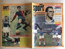 CALCIO DERBY GENOA SAMPDORIA 1957 FARINA ABBADIE FIORENTINA LAZIO