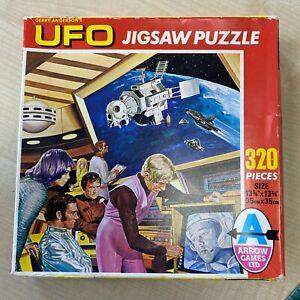 UFO 320 Piece Arrow Complete Jigsaw Puzzle U.F.O Gerry Anderson