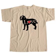 I Love American Water Spaniel Aws Boykin Dog Pet Lover Puppy Unisex Tee T-Shirt