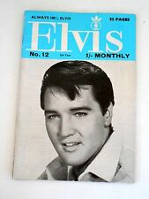 ELVIS Monthly Magazine  Fifth Series No 12, Dec. 1964 from the United Kingdom