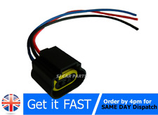 H13 9008 Connector 3pin Halogen LED Headlamp Bulb Socket Holder Adapter Plug