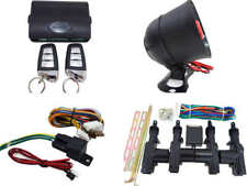 High Quality Car Alarm Remote Siren & Full Set Central Locking Kit 4 Doors 5