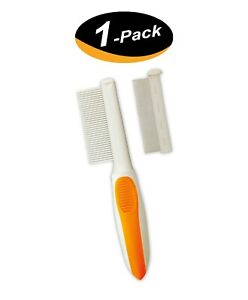 1 Pack Wahl 2-in-1 Flea/Finishing Pet Comb to detect fleas, flea eggs, ticks-New