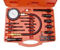 17pc Diesel Engine Compression Pressure Test Kit Universal Tool Set