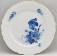 Royal Copenhagen Blue Flowers (Curved, Gold) Bread & Butter Plate 1627