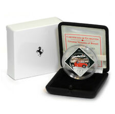 Palau Greatest Victories Ferrari D50 $1 2011 Proof Colored Coin Factory Box & CO