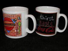 Coca Cola Coffee Mugs Set of 2 - FREE SHIPPING