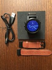 Garmin Fenix 5S Plus 42mm Sapphire Edition Black with Black Band