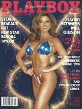Playboy 1995 - Nude Sandra Taylor Glamour Model Heidi Mark Naked & Lingerie Sex