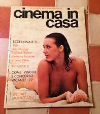 LIBRO RIVISTA CINEMA IN CASA ANNO I N° 4/5 GIUGNO LUGLIO 1977 CINEAMATORE
