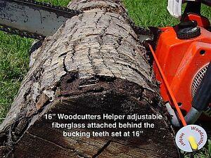 "Woodcutters Helper 16"" Adjustable Magnetic Firewood Measuring Tool - Fiberglass"