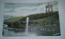 @ POSTCARD - BURNLEY - SCOT PARK - LANCASHIRE - FOUNTAINS - 1904 (F)