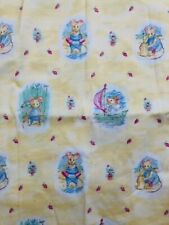 """GORGEOUS /""""1ST DAY AT NURSERY/"""" PRINTED FABRIC SHEET...HAIR BOWS..EXCLUSIVE"""