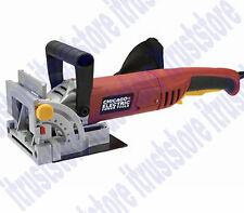 Heavy Duty Wood Bisquit Plate Jointer Power Miter T Butt Joiner Biscuit Kit Tool