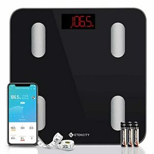Etekcity Smart Body Fat Scale, Digital Bathroom Scales for Body Weight, BMI, and