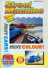 STREET MACHINE SEPTEMBER 1988-FREE 52 CHEVY PICK UP TRUCK POSTER-53 CADDY-VW