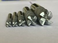 Corner Rounding Cutter End Mill Solid Carbide AlTiN Coated 1.5 2 2.5 3 4 5 6 MM