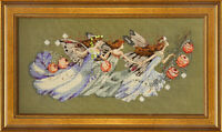 """SALE! COMPLETE XSTITCH KIT """"SHAKESPEARE'S FAIRIES MD103"""" by Mirabilia"""