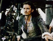 Orlando Bloom Signed Pirates Of The Caribbean 11x14 Photo Photograph PSA Auto
