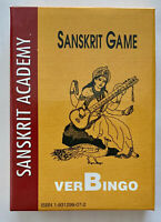 Sanskrit Game verBingo by S.Mohan and M. Condamoor Sanskrit Academy -  Like New