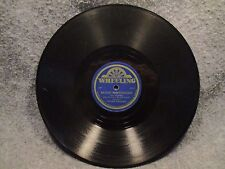 "78 RPM 10"" Record Chickie Williams Beyond The Sunset & Bright Red Wheeling 1001"