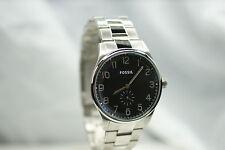 FOSSIL Herrenuhr FS4852 top Uhr schwarz breit  Edelstahlarmband klassisch c NEU