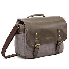 Evecase Urban Life PU Messenger Camera Bag For Nikon / Sony / Canon DSLR Series