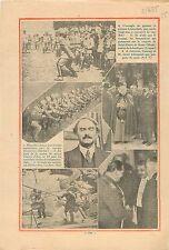 Maneuvers Manoeuvres Grenade Bénito Mussolini Sampietrini 1935 ILLUSTRATION