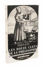 [ALCHIMIE] Les Douze Clefs de la philosophie, 1992