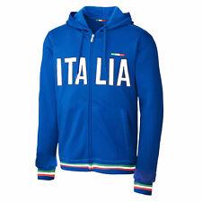 Felpa uomo donna Italia giacca tuta maniche lunghe cappuccio TOOCOOL FI-589