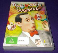 PEE-WEE'S FUNHOUSE VOLUME 1 DVD 5 DISCS REGION FREE SEASON 1 & 2