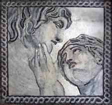 The creation of Adam Mosaic Mural Mosaic Ancient Mythology Mosaic Tile