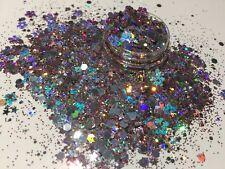 Exclusive Bizzy Nails Cosmetic Grade Glitter Nail Art Glitzy Flowers Acrylic Gel