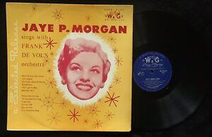 Jaye P. Morgan, Frank De Vol And His Orchestra, 1956 OZ LP, NM-  WG PPC  245