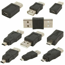 10Pcs USB Male to Mini Micro Female OTG Adapter Converter Set for Android Phone