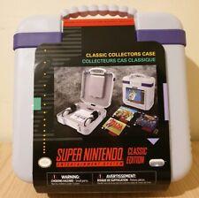 Super Nintendo SNES Limited Edition,Classic Mini Collectors Case BRAND NEW
