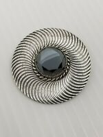 Vintage Danecraft Jewelry Sterling Silver Brooch Pin