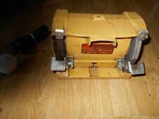 """Shopmate 5"""" Electric Bench Grinder Model 2601AT0 3500 RPM 1.6 AMPS Vintage"""