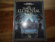 """""""the temple of elemental Evil"""" (D & D, AD & D, TSR)"""