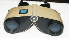 Vintage Bushnell Expo Extra Power Thumb Focus Binoculars With Lens Protector