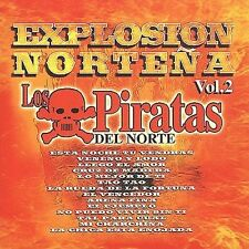 Audio CD Explosion Nortena 2 - Piratas Del Norte - Free Shipping