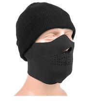 Mil-Tec Neopren Gesichtsschutz Schutzmaske Maske Gesichtsschutzmaske Schwarz