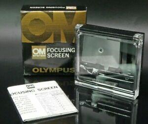 Olympus OM System Focusing Screen 1-4 Unused in Original Box